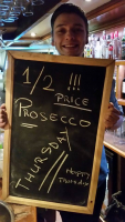 HALF PRICE PROSECCO EVERY THURSDAY